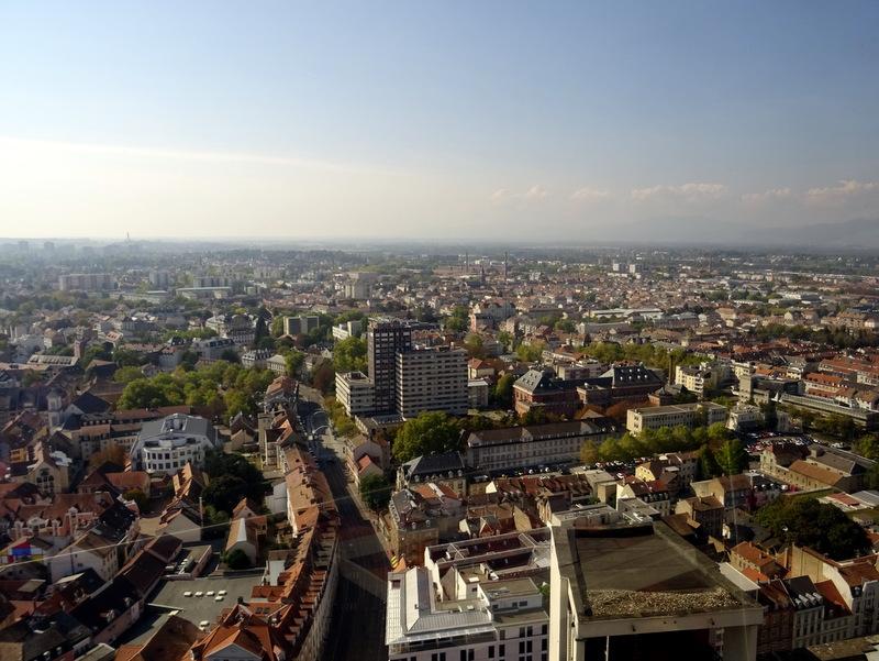 Panorama sur Mulhouse